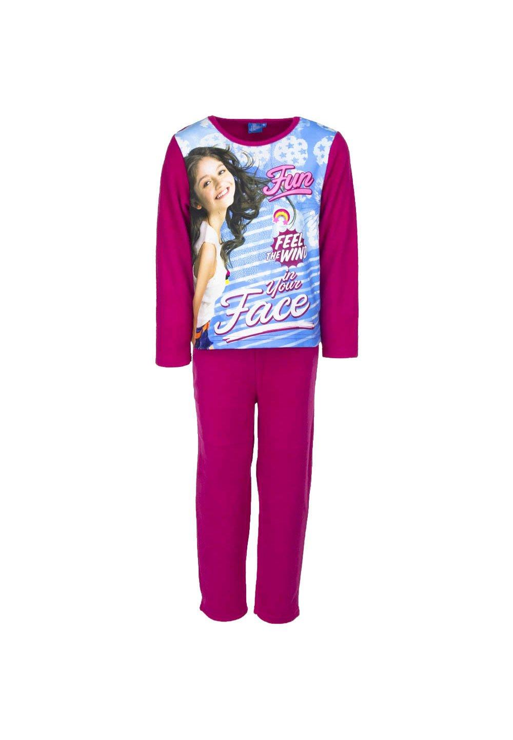 Pijama fleece, Soy Luna Fun, roz