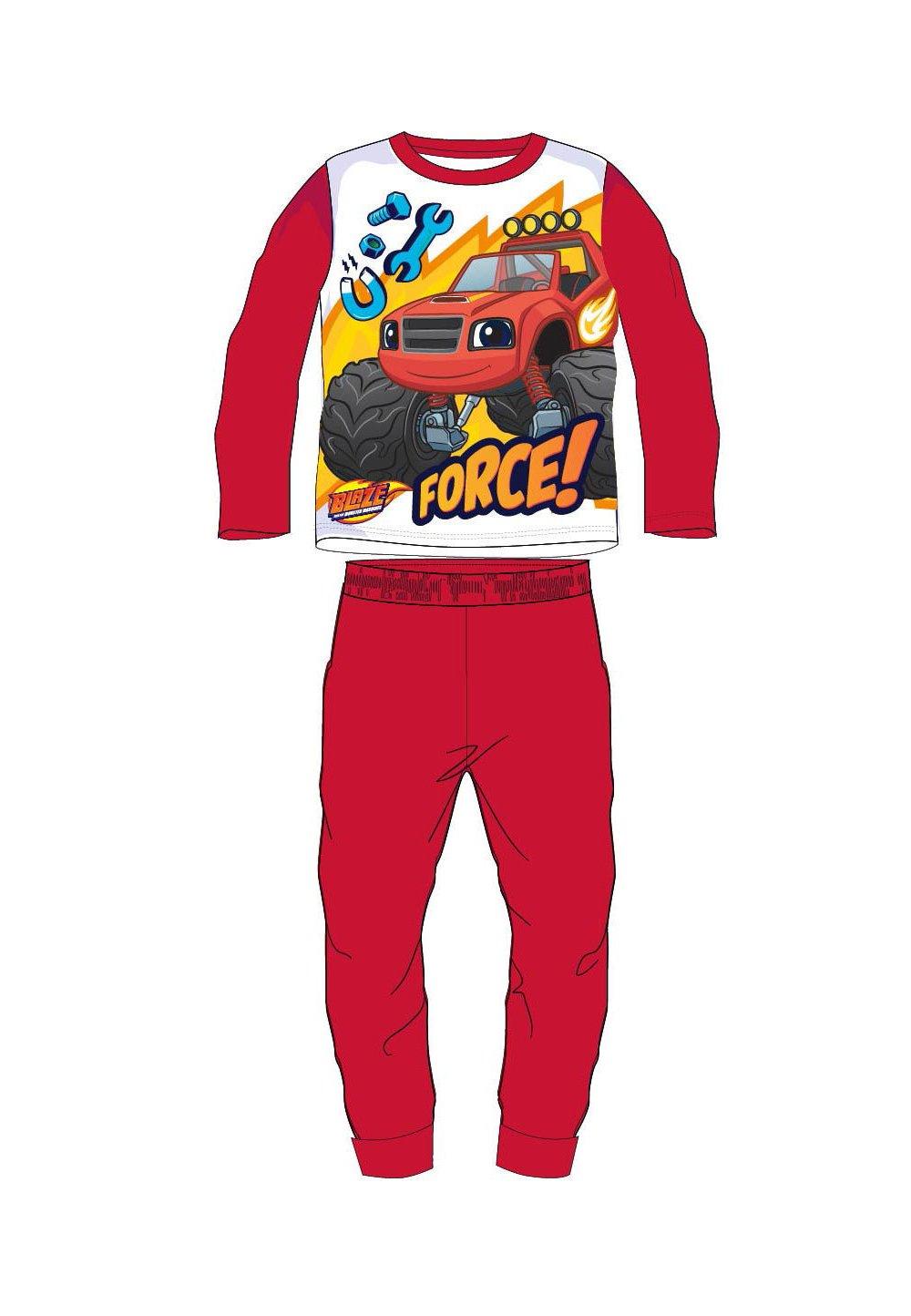 Pijama force Blaze, rosie