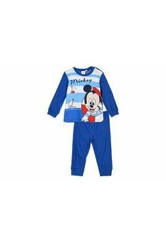 Pijama maneca lunga, bebe Mickey, albastra