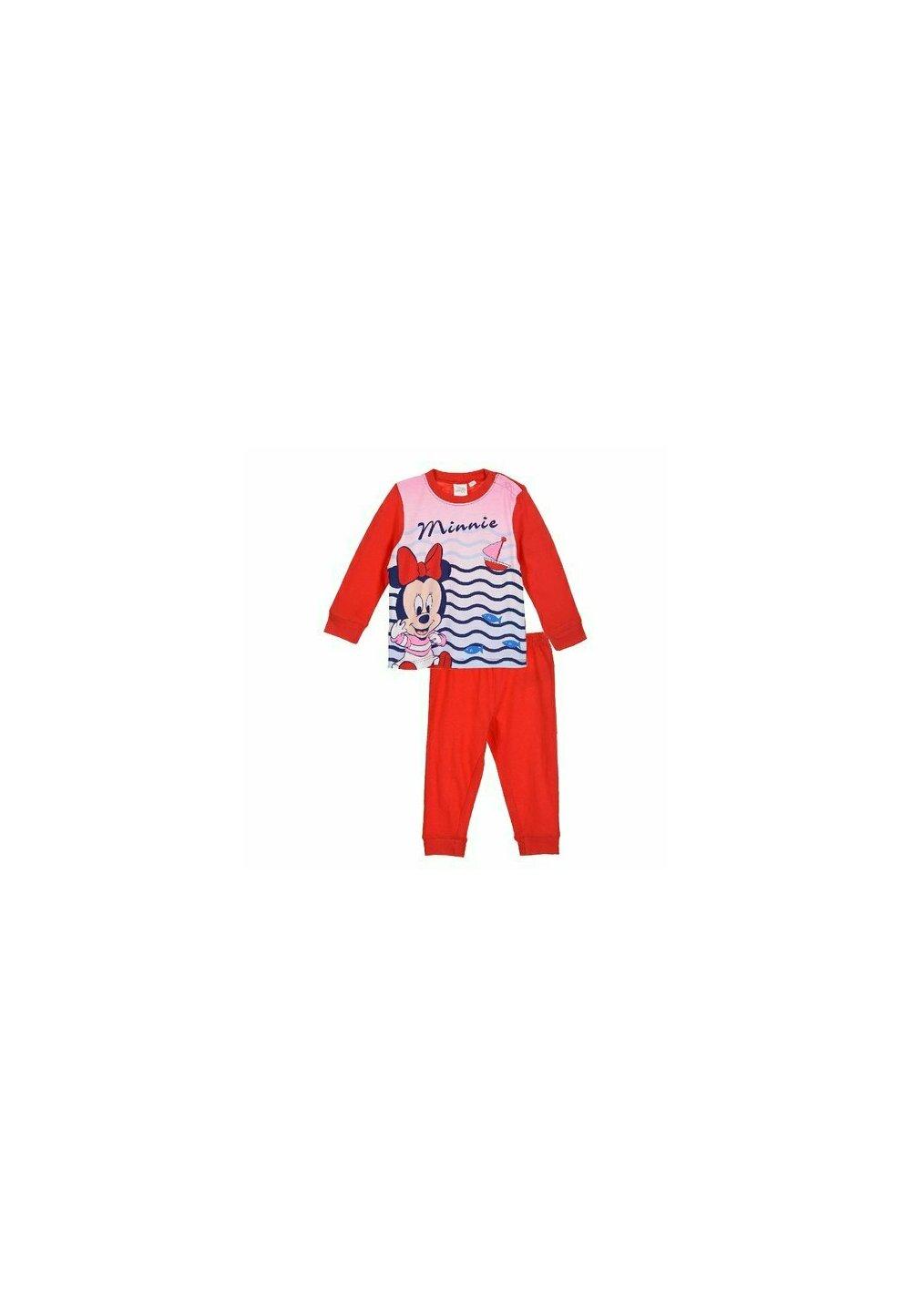 Pijama maneca lunga, bebe Minnie, rosie imagine