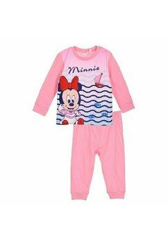 Pijama maneca lunga, Bebe Minnie, roz