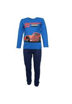 Pijama maneca lunga, Cars 95, albastra