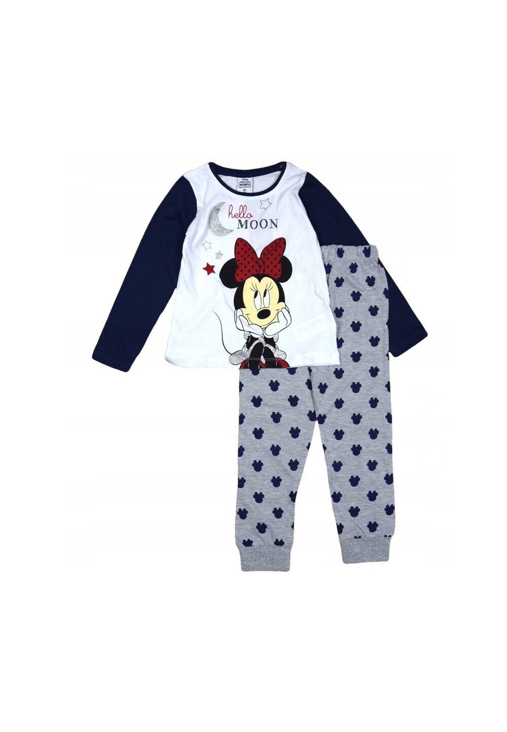 Pijama maneca lunga, Hello moon, bluemarin imagine