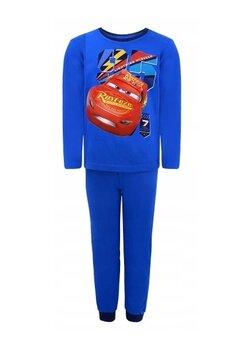 Pijama maneca lunga, Lightning MCQueen, albastra