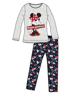 Pijama, maneca lunga, Maybe tomorrow, gri