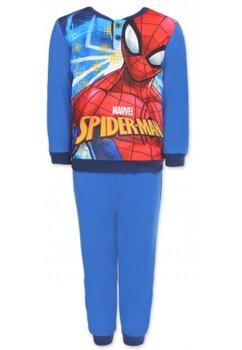 Pijama maneca lunga, plus, Spider-Man, albastra