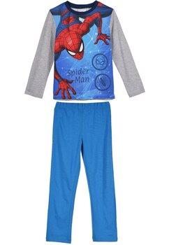 Pijama maneca lunga, The amazing Spider-man, albastra cu gri