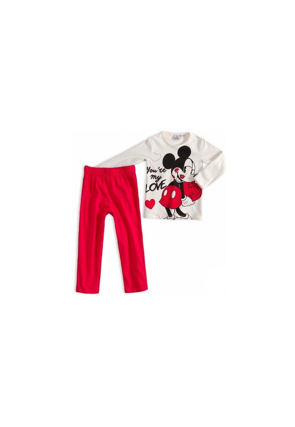 Pijama, maneca lunga, You are my love, ivory imagine