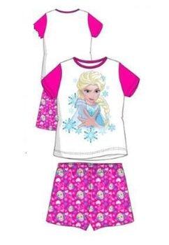 Pijama maneca scurta, Frozen, roz