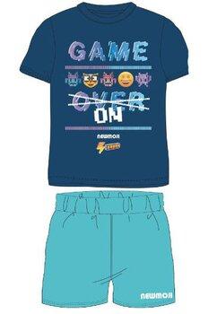 Pijama, maneca scurta, Game Over, bluemarin