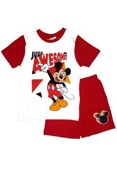 Pijama, maneca scurta, Mickey, Just so awesome, rosie