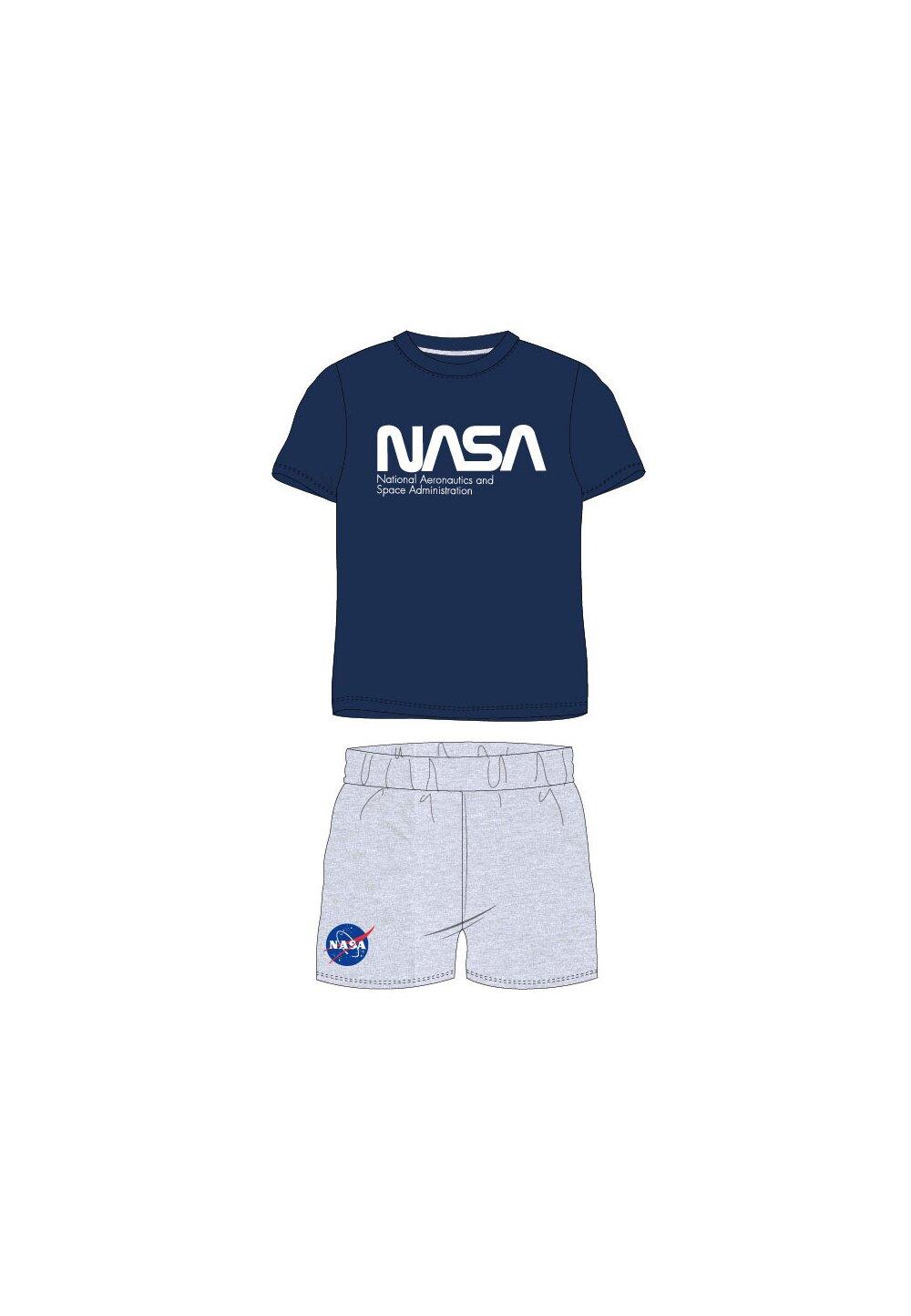 Pijama, maneca scurta, Nasa, bluemarin imagine