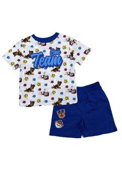 Pijama maneca scurta, Paw Patrol, One Team, albastra