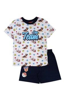 Pijama maneca scurta, Paw Patrol, One Team, gri
