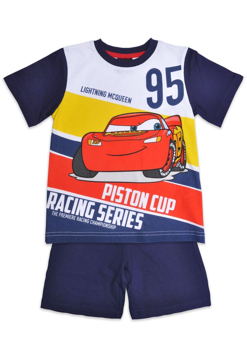 Pijama maneca scurta, Piston cup, bluemarin imagine