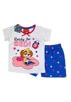 Pijama maneca scurta, Ready for Bed!, alba