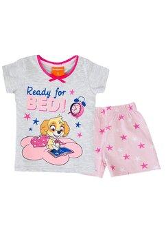 Pijama maneca scurta, Ready for Bed!, gri