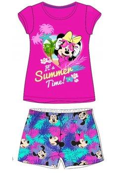 Pijama, maneca scurta, Summer time, roz
