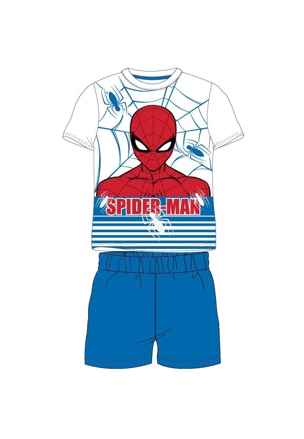 Pijama, maneca scurta, The amazing Spider-man, albastra imagine