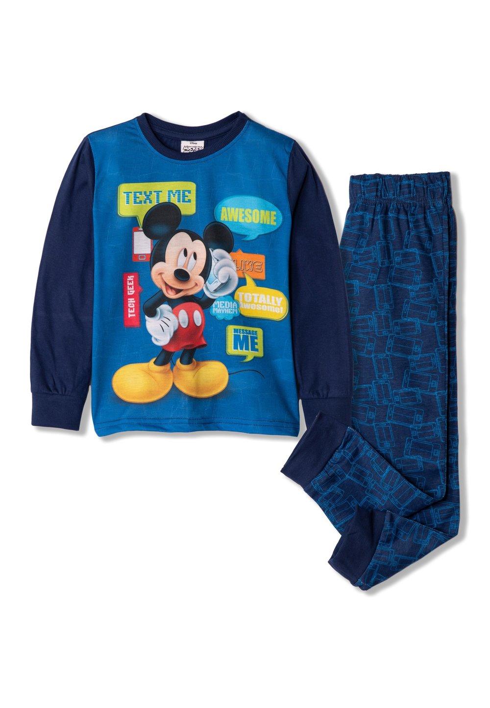 Pijama, Mickey text me, bluemarin