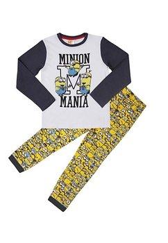Pijama Minions Mania, gri inchis