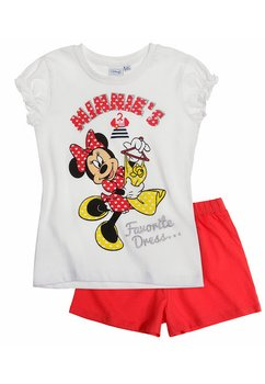 Pijama Minnie alb 3899