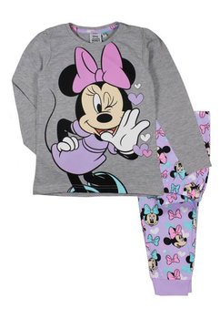 Pijama Minnie, gri cu mov
