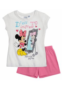 Pijama Minnie Mouse alba 3936