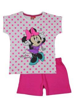 Pijama Minnie Mouse cu buline, roz