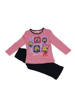 Pijama Minnions roz deschis