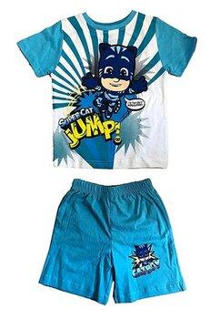 Pijama MS, Super cat jump!, albastra