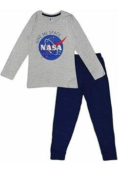 Pijama fete, Nasa Give me space, gri