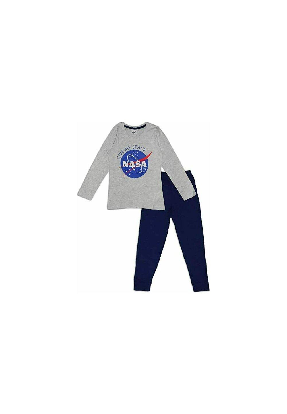 Pijama fete, Nasa Give me space, gri imagine