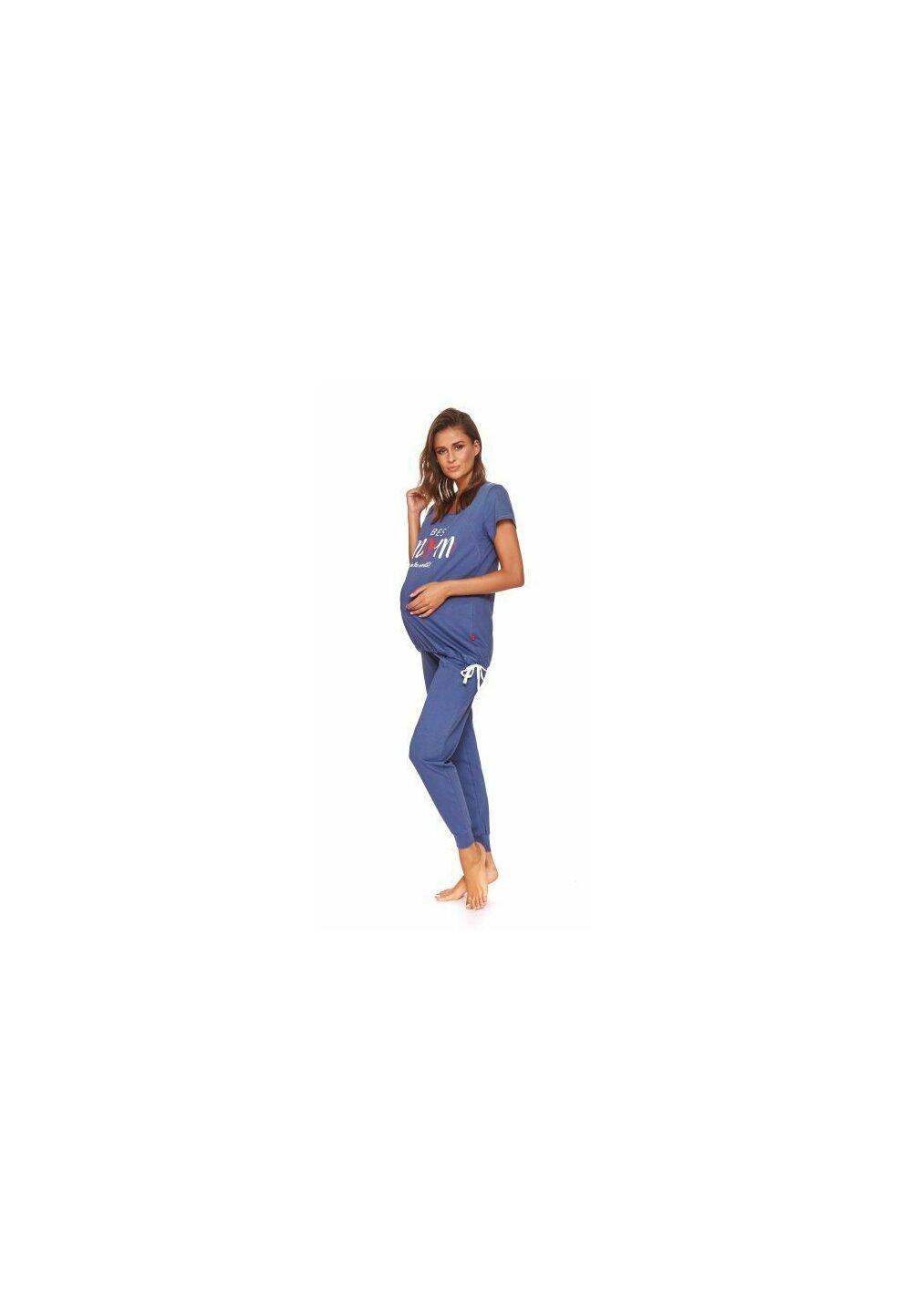 Pijama pentru alaptat, Best Mom in the world, bluemarin imagine