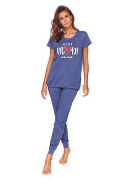 Pijama pentru alaptat, Best Mom in the world, bluemarin