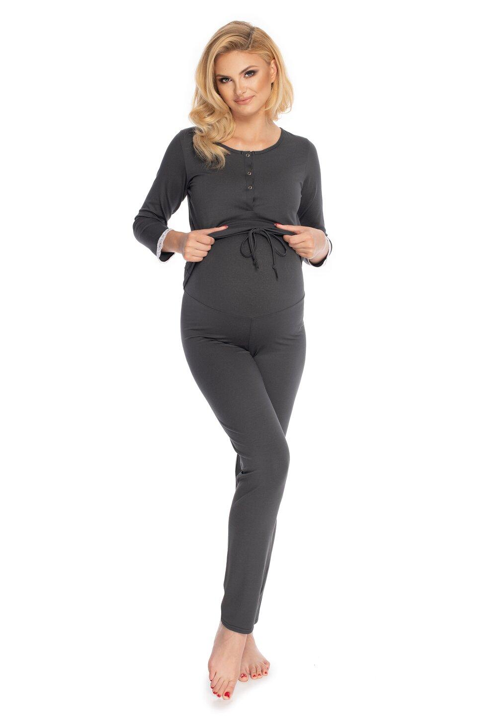 Pijama pentru alaptat, Diana , neagra imagine