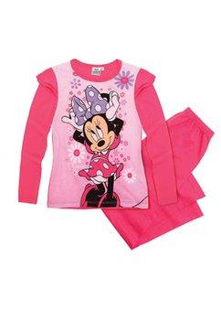 Pijama, roz cu flori Minnie Mouse