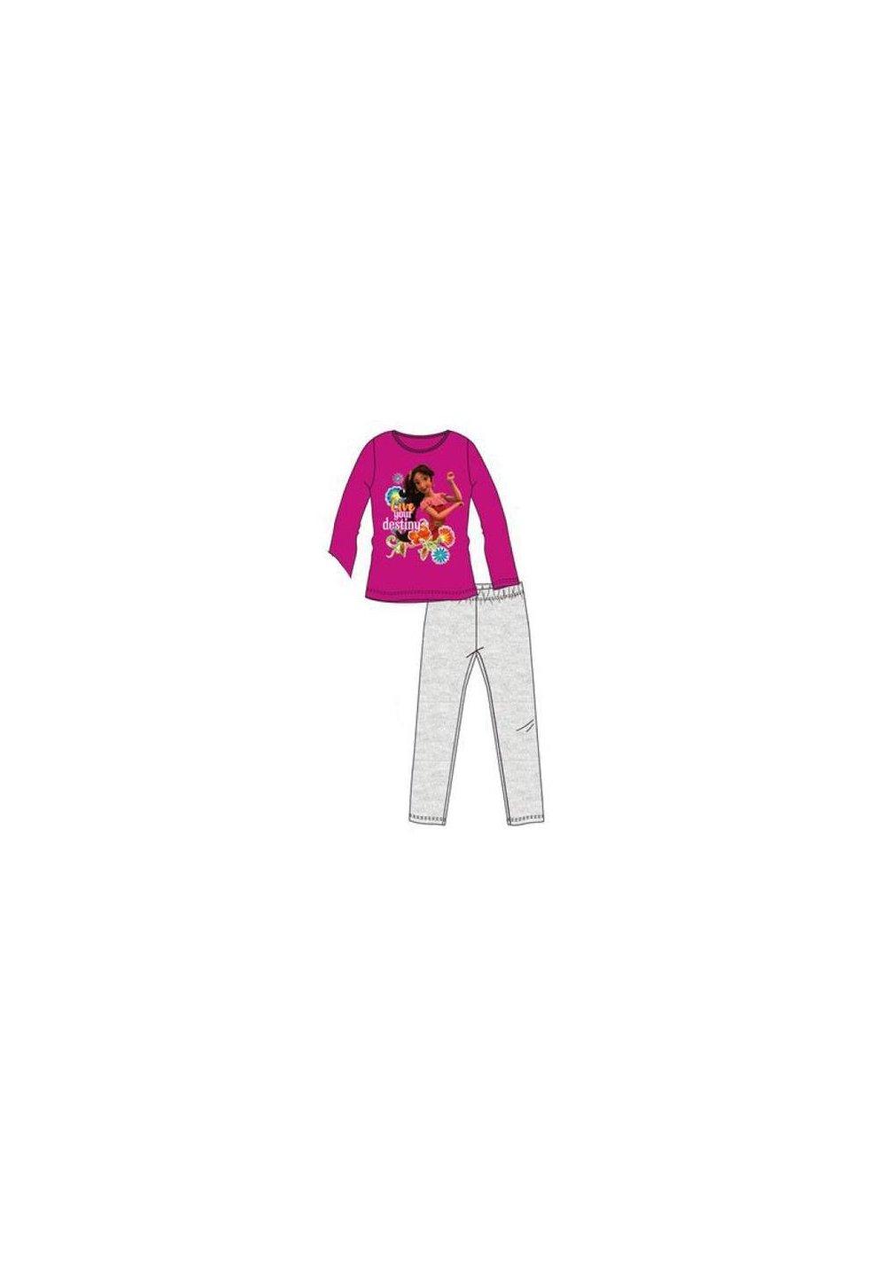 Pijama, roz inchis, Live your destiny imagine
