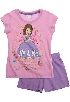 Pijama Sofia, maneca scurta, roz deschis