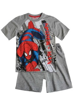 Pijama Spiderman gri