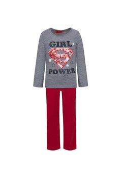 Pijama, Super girl, gri