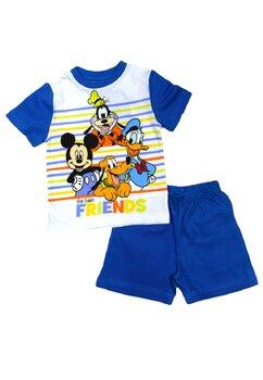 Pijama vara, Mickey and friends, albastra