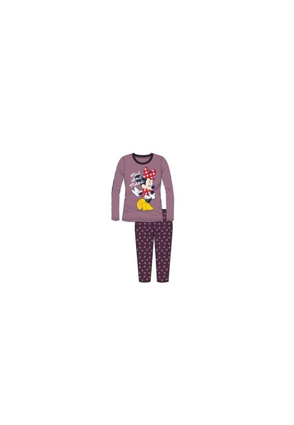 Pijama visinie, pantalon 3/4, Minnie Mouse imagine