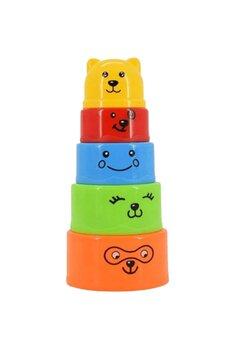 Piramida colorata, Edu&Fun, +6 luni