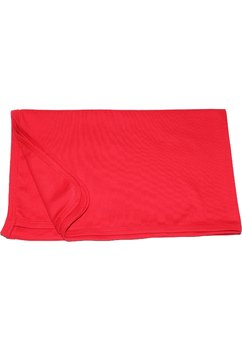 Pled bebe rosu,  90x75 cm