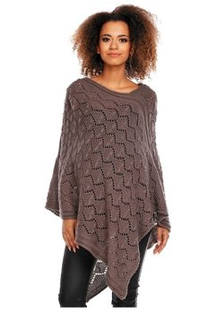 Poncho maro, tricotat