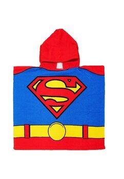 Poncho, Superman, rosu, 55 x 110 cm