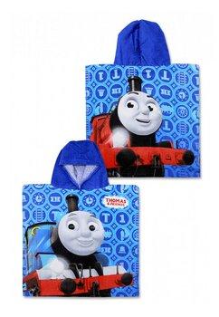 Poncho, Thomas&Friends, albastru, 55 x 110 cm