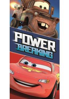 Prosop bumbac, Cars, Power breaking, 140x70cm