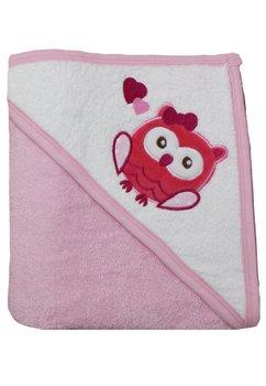 Prosop bumbac, roz, 90x90cm